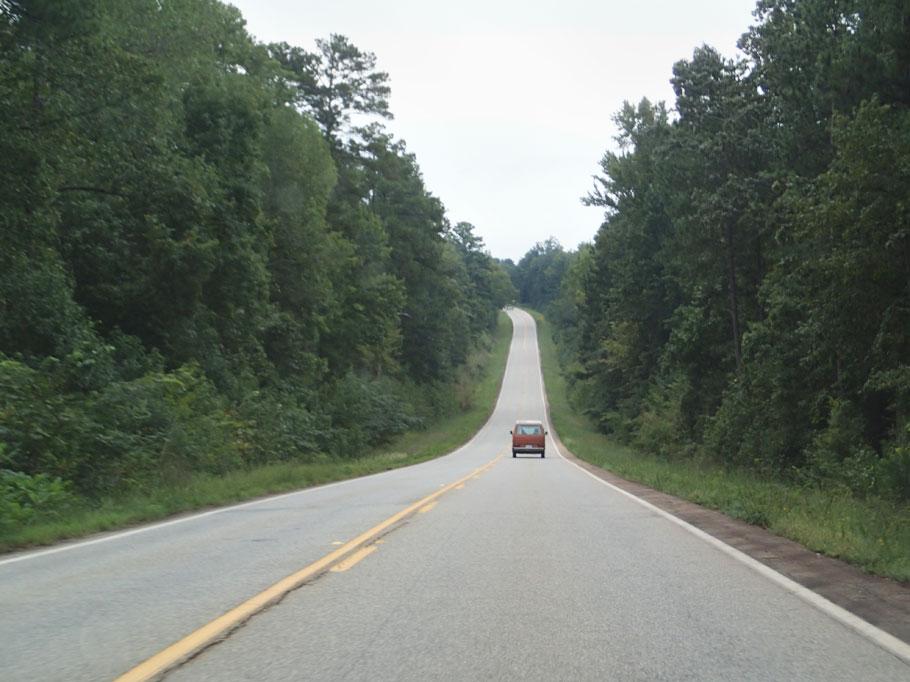 Down the road in Georgia.