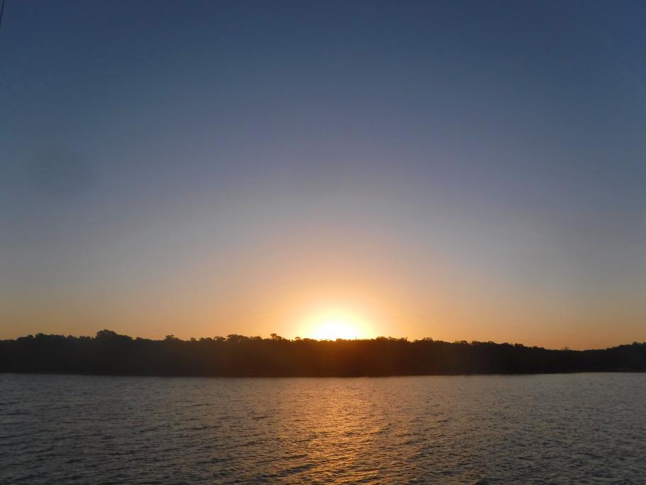 Sunrise over Panther Key.