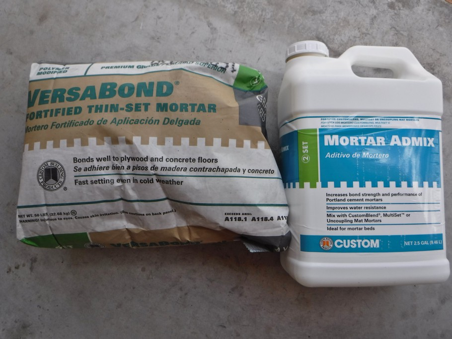 Did lots of research and settled on this combo to patch porch floor.