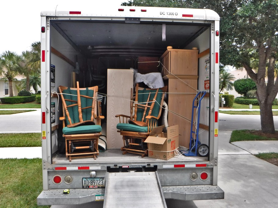U-Haul ready to go to NC.
