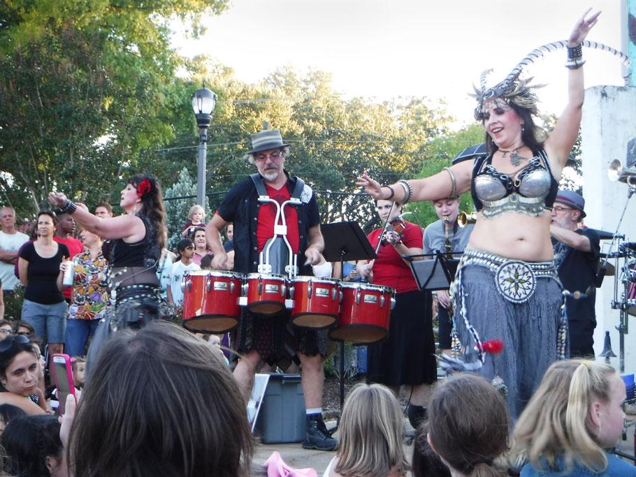 Festivals are always interesting in Atlanta!
