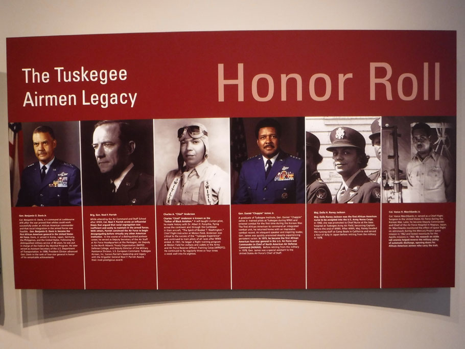 Some of the men and women of the Tuskegee legacy.