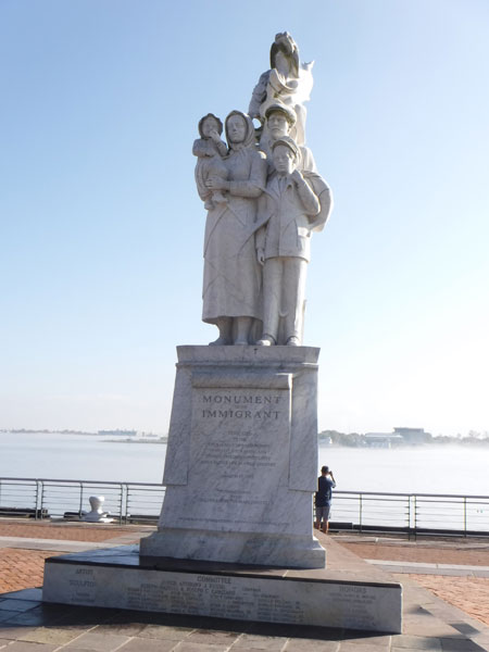 Monument to the Immigrant.