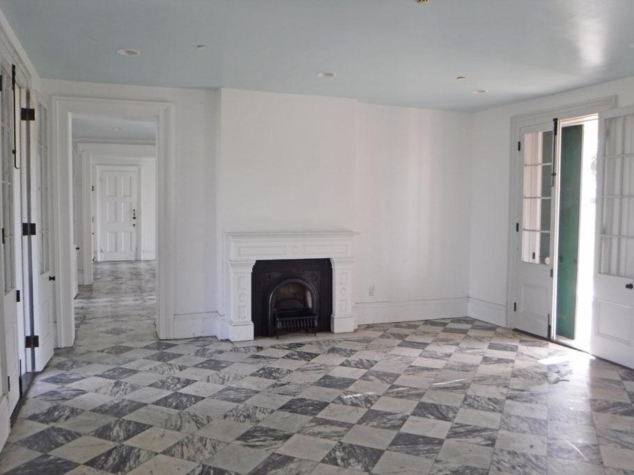 Inside the Malus-Beauregard House.